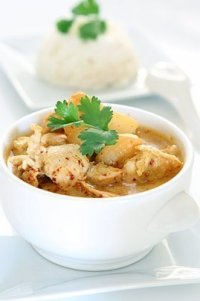 Photo de la recette Poulet au curry coco