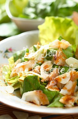 Photo de la recette Salade de cabillaud