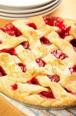 Photo de la recette Tourte aux fruits rouges